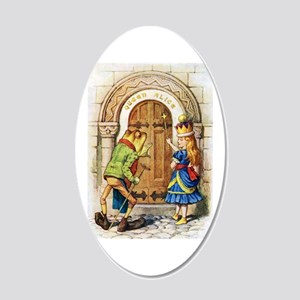Queen Alice 20x12 Oval Wall Decal