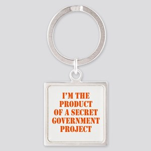 Product of Government Square Keychain
