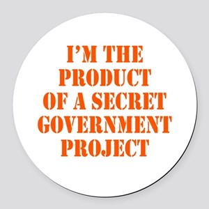 Product of Government Round Car Magnet