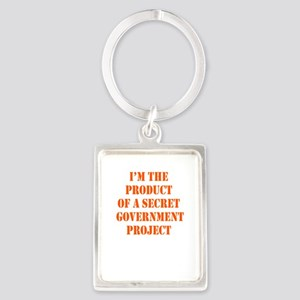 Product of Government Portrait Keychain