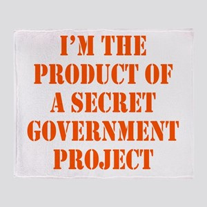Product of Government Throw Blanket