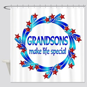 Grandsons are Special Shower Curtain