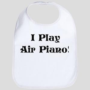 I Play Air Piano Bib