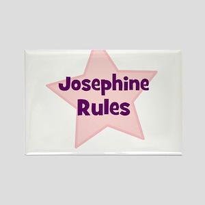 Josephine Rules Rectangle Magnet