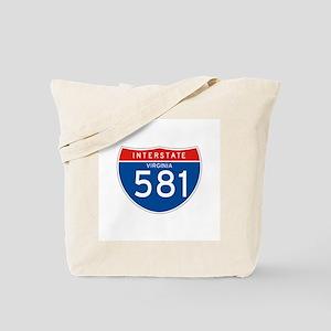 Interstate 581 - VA Tote Bag