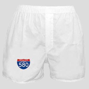 Interstate 580 - CA Boxer Shorts