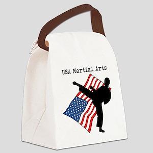 Martial Arts Canvas Lunch Bag