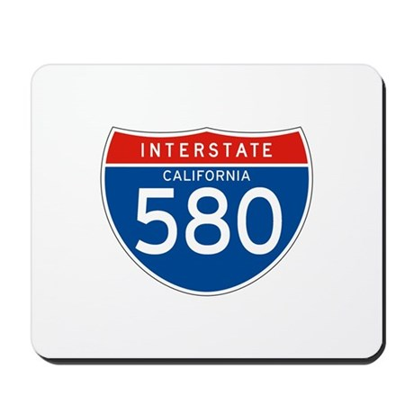 Interstate 580 - CA Mousepad