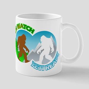 Sasquatch Yeti Match Up Mug
