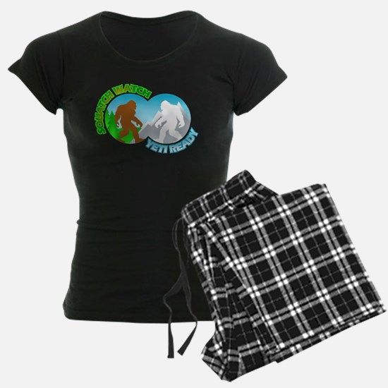 Sasquatch Yeti Match Up Pajamas