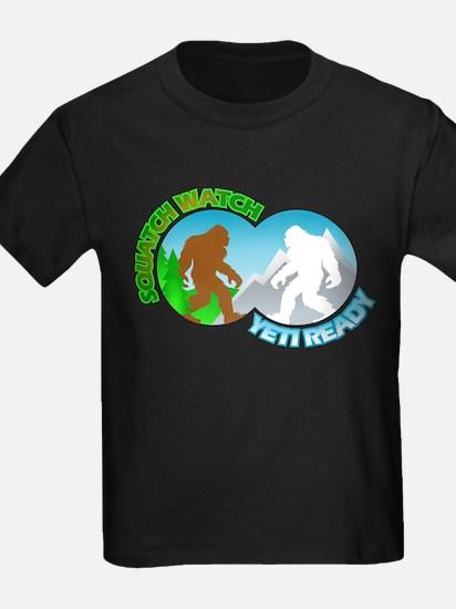 Sasquatch Yeti Match Up T-Shirt