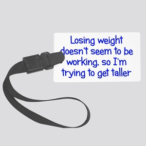 Weight Loss Secrets Large Luggage Tag