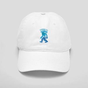 Yeti Mountain Scene Baseball Cap
