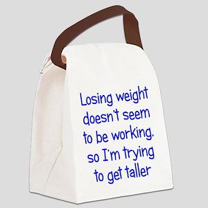 Weight Loss Secrets Canvas Lunch Bag