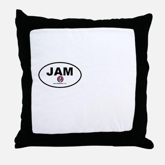 Jam San Francisco Throw Pillow