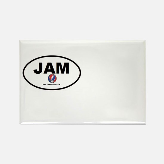 Jam San Francisco Rectangle Magnet