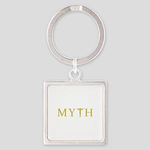 MYTH Square Keychain