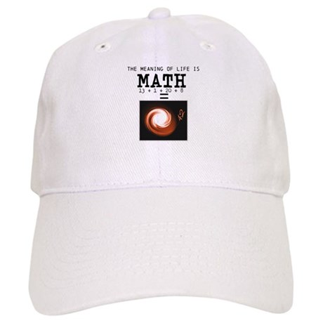 Meaning of life is math Cap
