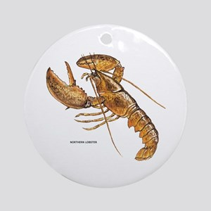 Northern Lobster Ornament (Round)
