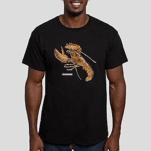Northern Lobster Men's Fitted T-Shirt (dark)