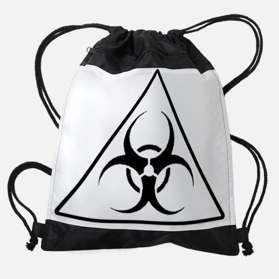 biohazard_1.png Drawstring Bag