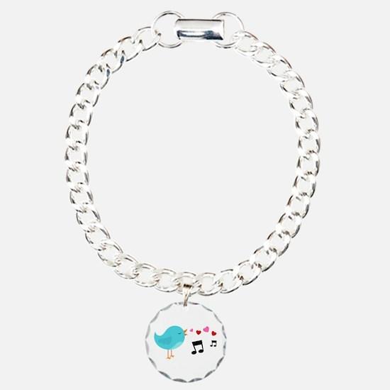Singing Blue Bird Bracelet