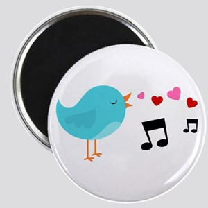 Singing Blue Bird Magnet
