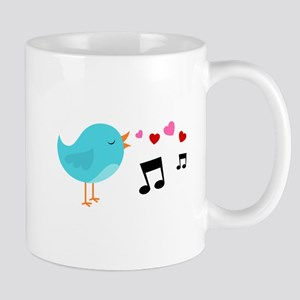 Singing Blue Bird Mug