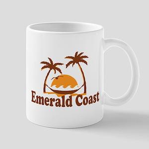 Emerald Coast - Palm Tree Design. Mug