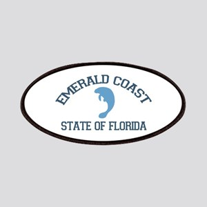 Emerald Coast - Manatee Design. Patches