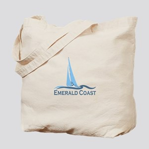 Emerald Coast - Sailing Design. Tote Bag