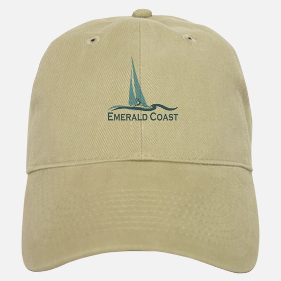 Emerald Coast - Sailing Design. Baseball Baseball Cap