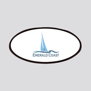 Emerald Coast - Sailing Design. Patches