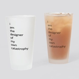 Catastrophy Drinking Glass