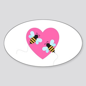 Cute Honey Bees Sticker
