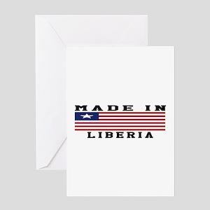 Liberia Made In Greeting Card