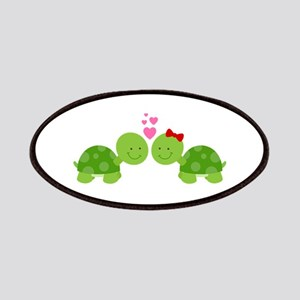 Turtles in Love Patches