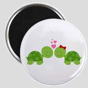 Turtles in Love Magnet