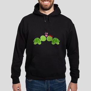 Turtles in Love Hoodie