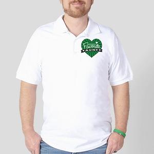 Favorite Aunt Green Golf Shirt