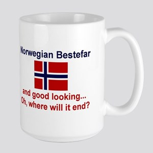 Gd Lkg Norwegian Bestefar Mugs