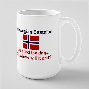 Gd Lkg Norwegian Bestefar Mugs