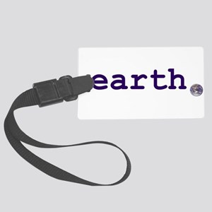 earth Luggage Tag