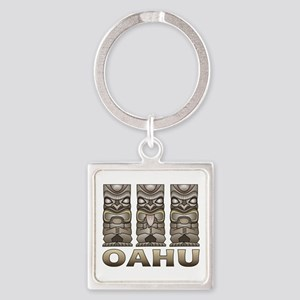 Oahu Tiki Keychains