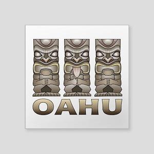 Oahu Tiki Sticker