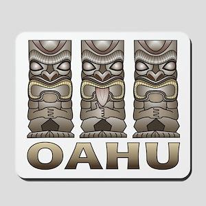Oahu Tiki Mousepad