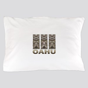 Oahu Tiki Pillow Case
