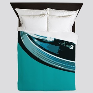 Turntable Vinyl DJ Queen Duvet