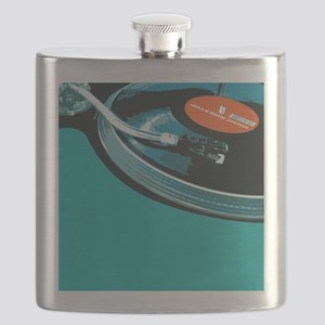 Turntable Vinyl DJ Flask