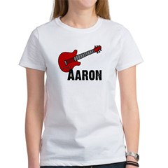 Guitar - Aaron Women's T-Shirt